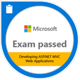 Exam passed 486: Developing ASP.NET MVC Web Applications
